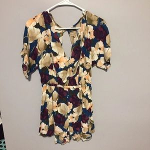 New floral O'Neil romper small